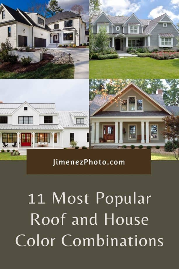 Roof and House Color Combinations