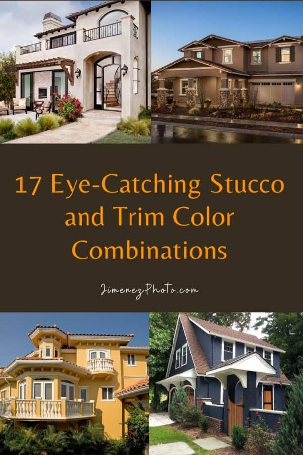 Stucco and Trim Color Combinations