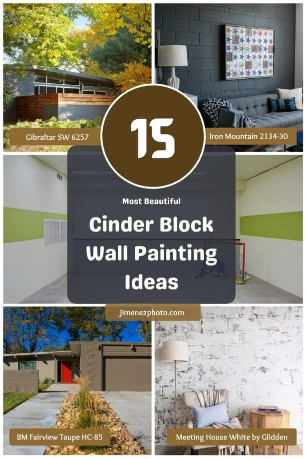 15 Most Beautiful Cinder Block Wall Painting Ideas