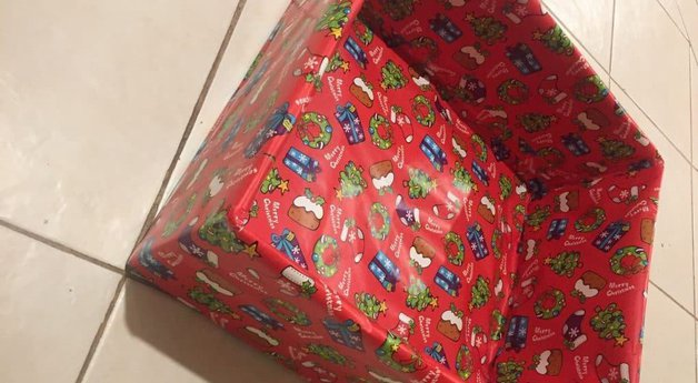 Family Christmas Wrapping