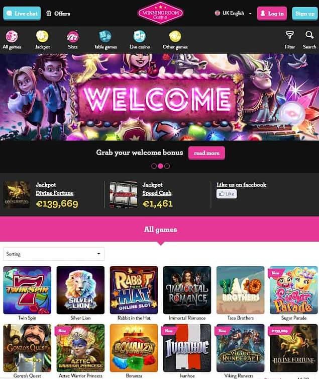 Winning Room Casino Review