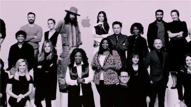 apple tv plus launch actors and directors