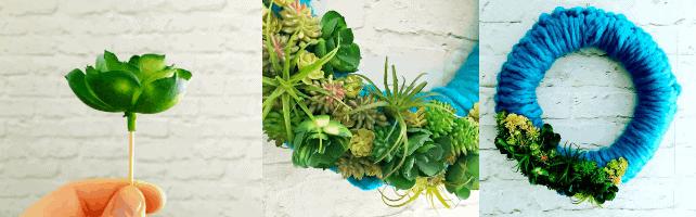 crochet wreath step by step