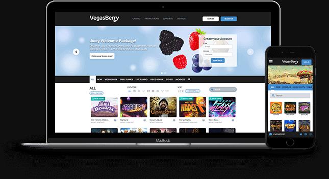 Vegas Berry free bonus