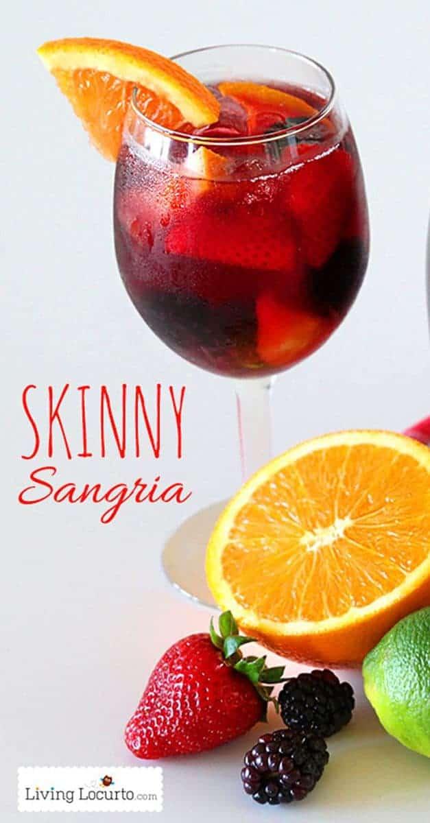 Skinny Sangria Recipe