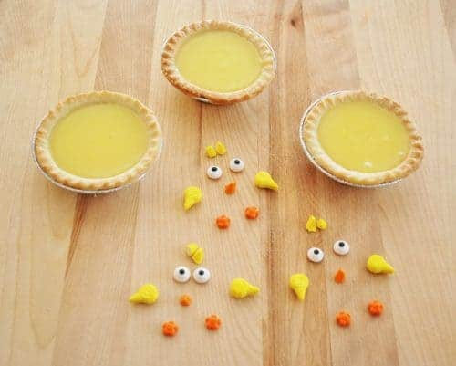 baby chick lemon pie