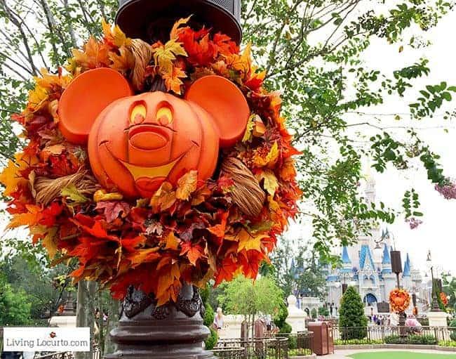 Disney World Magic Kingdom Halloween Wreath Decorations