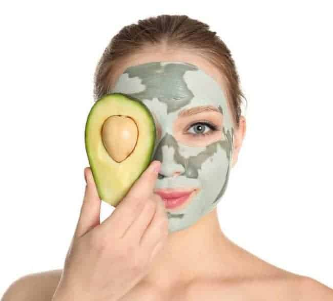 DIY Avocado Face Mask Recipe - Easy skin care routine you can make at home.
