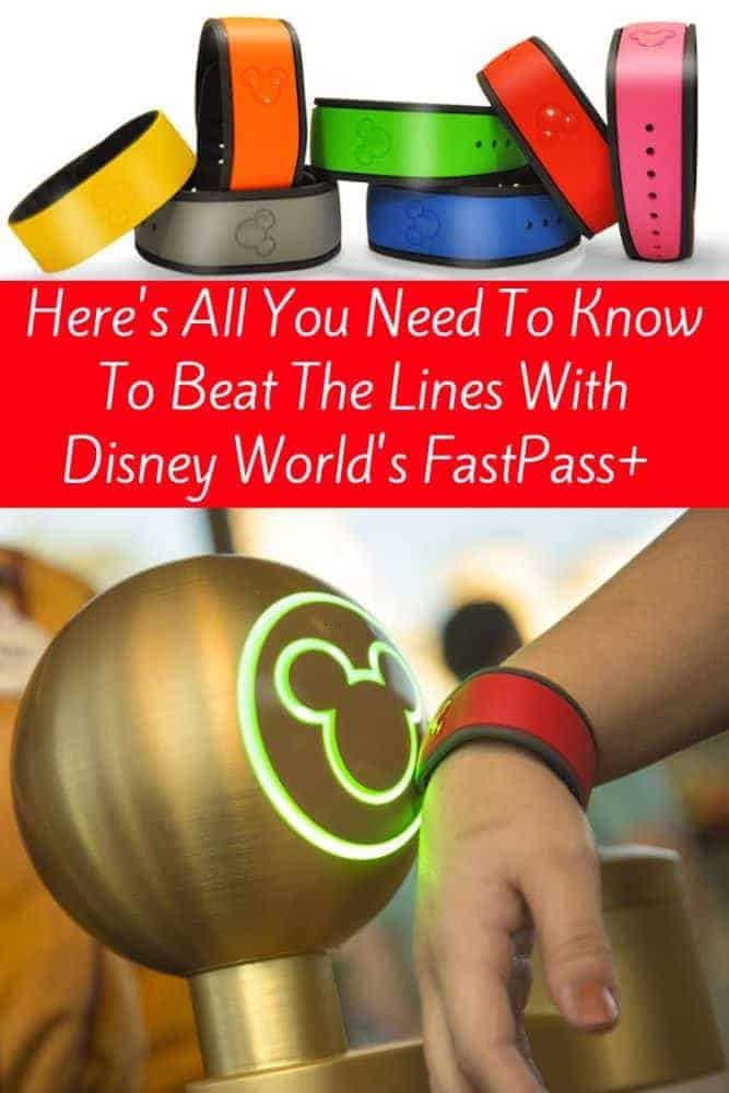 A walt disney world planning pro tells readers how to use fastpass+ to avoid lines for popular attractions. Tips for making the most of your wdw vacation. #wdw #disneyworld #disney #waltdisneyworld #fastpass #fastpass+ #magicbands #disneytips