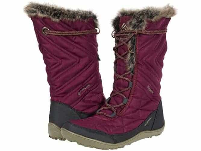 Even columbia's boots have heat reflective lining. They really keep your feet cozy.