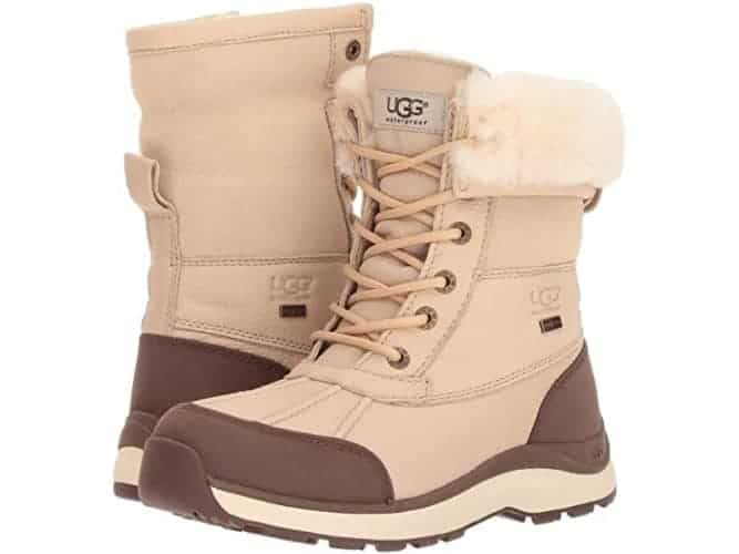 Ugg lace-up boots are the choice when you really need a warm and rugged winter boot.