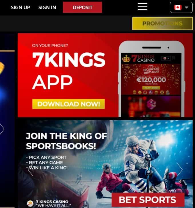 7 Kings Mobile App