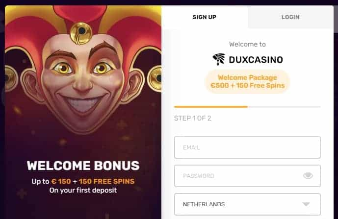 Exclusive Welcome Bonus: 500 EUR and 150 Free Spins