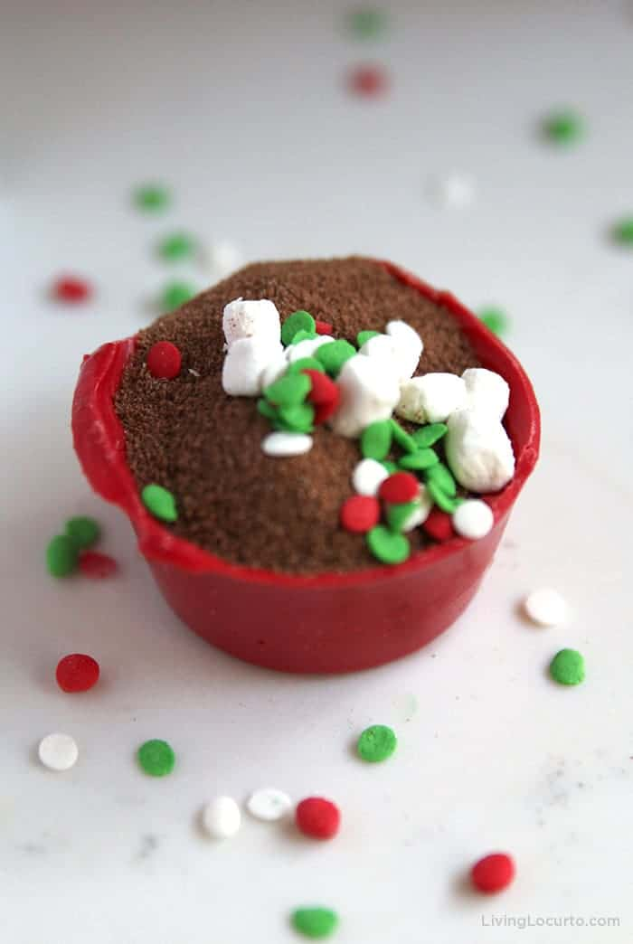 Hot Chocolate Cocoa Bomb Red Candy Melt Recipe