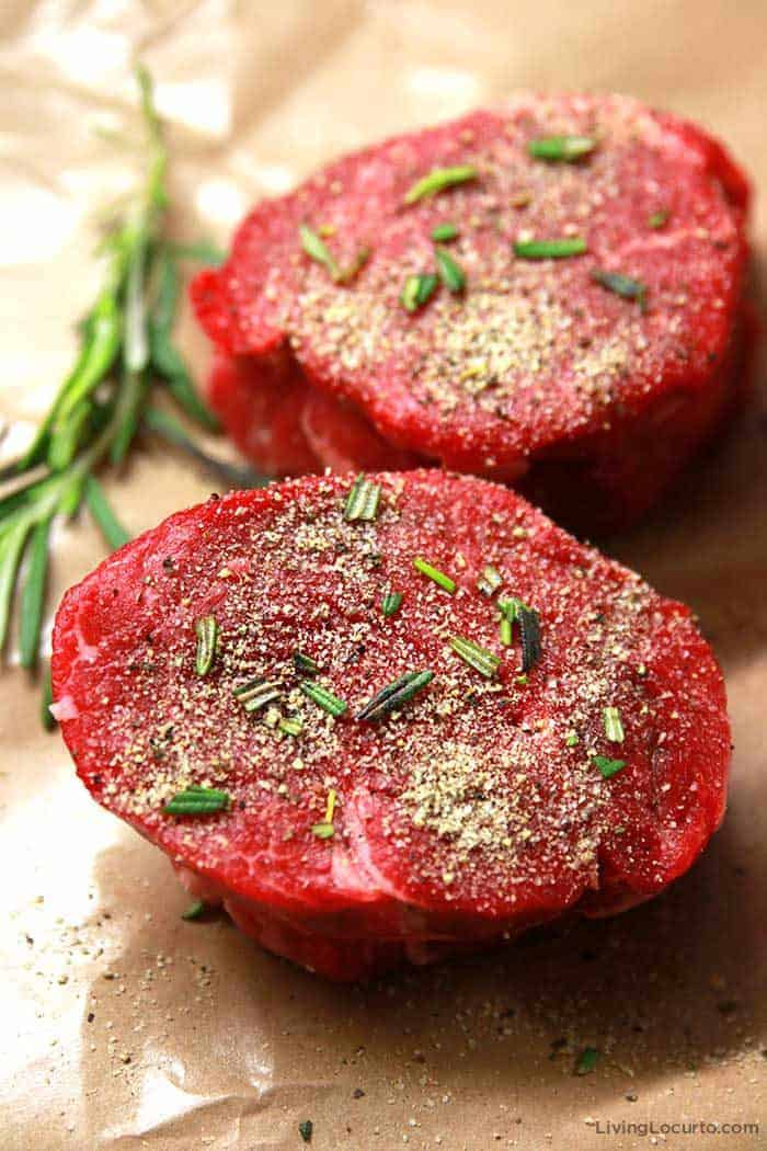 How to Cook the Filet Mignon - Easy Tender Steak Recipe with seasonings
