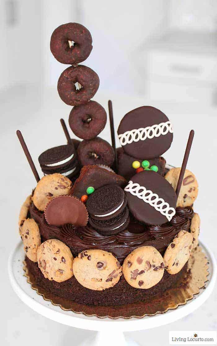 Ultimate Chocolate Birthday Cake No Bake Dessert - 16th Birthday Party Idea