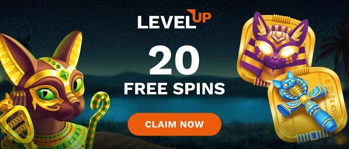LevelUp No Deposit Bonus