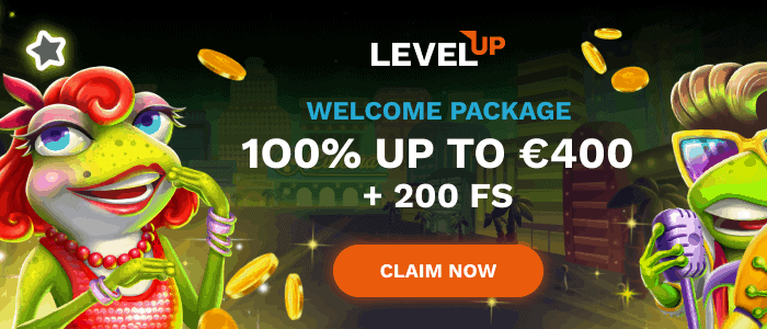 LevelUp 200 free spins on deposit