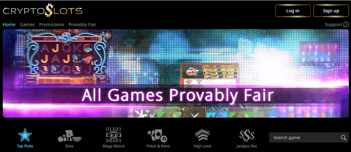 Provably Fair Games / Cryptocurrency Casino / Free To Play