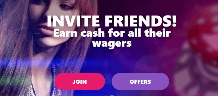 Invite A Friend Bonus