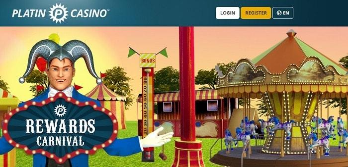 Platin Casino Rewards Carnival