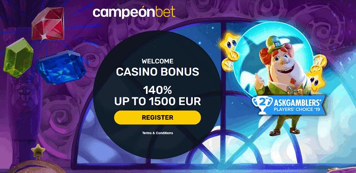 Campeon Casino Free Bonus