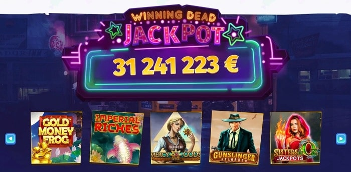 Casombie Casino Jackpot Games