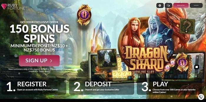 150 free spins bonus
