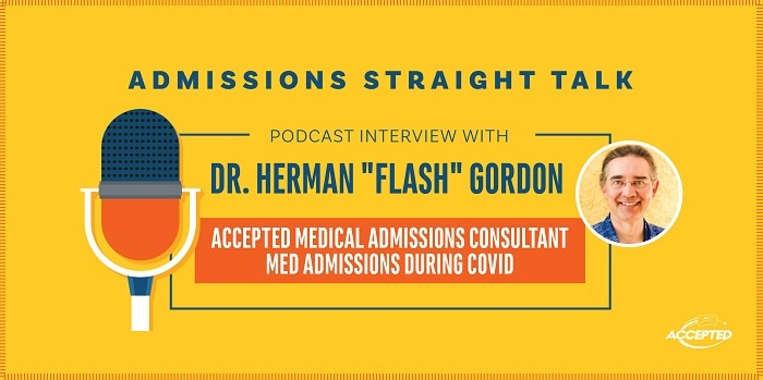 """Podcast interview with Dr. Herman """"Flash"""" Gordon"""