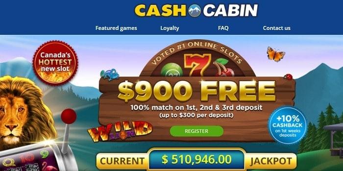 Bingo Cabin welcome bonus