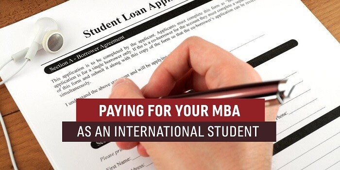 Paying for Your MBA as an International Student