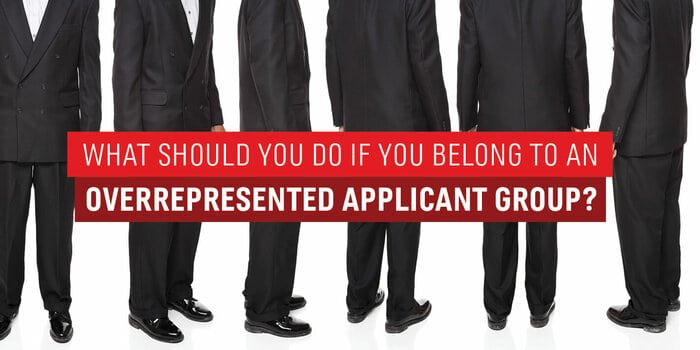 Overrepresented MBA Applicant Group