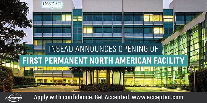 INSEAD Announces Opening of North American Campus