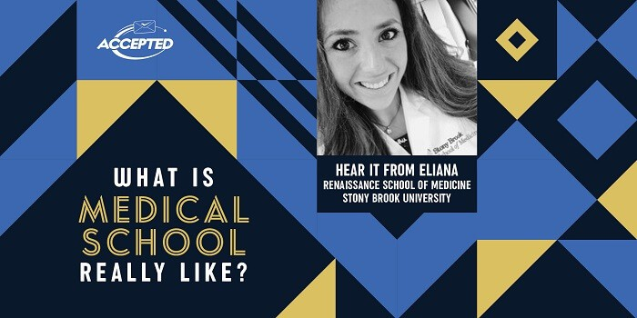What is medical school really like? Hear it from Eliana, Renaissance School of Medicine student!