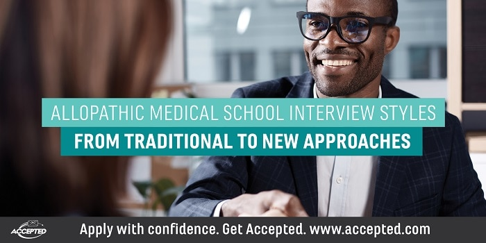 Allopathic Medical School Interview Styles