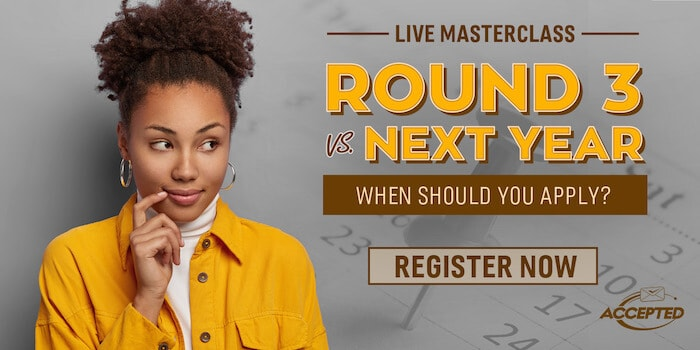 Join our masterclass, Round 3 vs. Next Year!