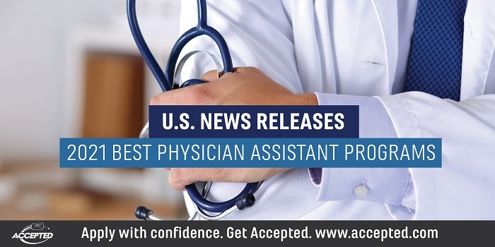 US News releases 2021 best physician assistant programs rankings