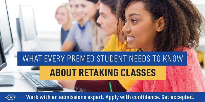 What Every Premed Student Needs to Know About Retaking Classes
