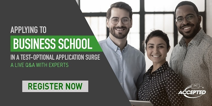 Don't Miss Out! Live Q&A with MBA Experts Discussing the Effects of Test-Optional Applications
