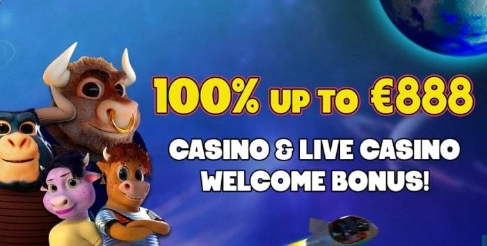 100% bonus and 50 free spins