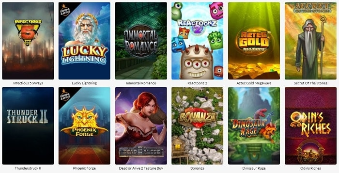SuperSeven Casino Games