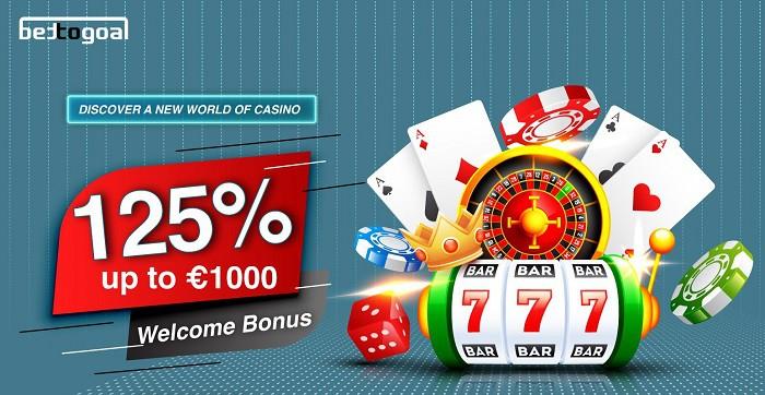 125% Welcome Bonus Pack