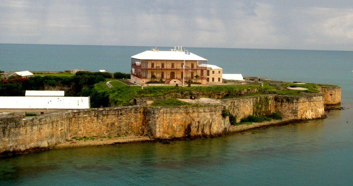 The dockyard commissioner's house is now bermuda's national museum