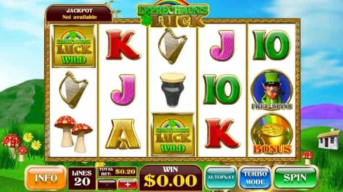 Leprechaun's Luck jackpot free spins bonus