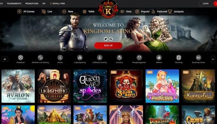 Kingdom No Deposit Bonus