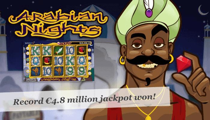 Arabian Nights Jackpot Winner