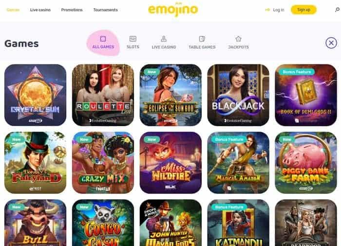 Emojino Casino Full Review