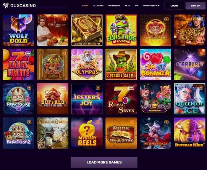 Dux Online Casino Review