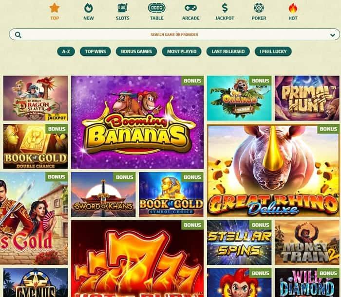 Dinospin Casino Full Review