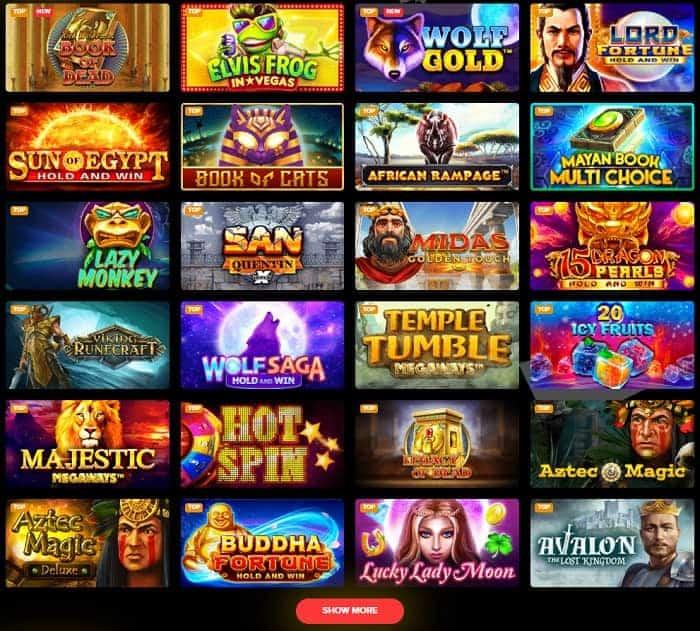 Arlekin CasinoFree Play Games